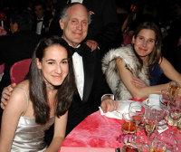Ronald Lauder and his daughters