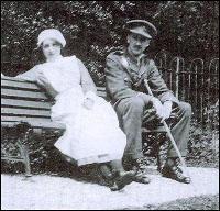 Vera Brittain and her brother