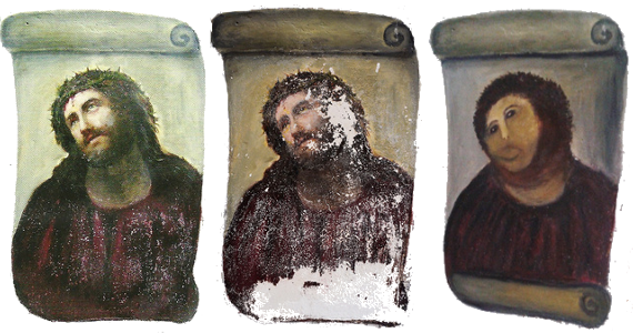 Ecce Homo DIY Art Restoration