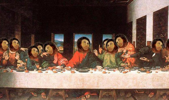 The Last Supper of the Internets