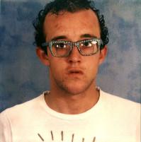Keith Haring's polaroid selfie