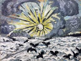 1913 Sonnenaufgang (Sunrise)