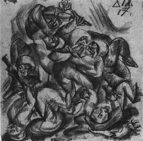 the humanity of victims in otto dixs war Otto dix, group portrait but, just as he stayed in the trenches for so much of the great war the power of humanity difference maker 100 opinion.