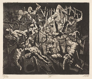 Totentanz anno 17 (Hohe Toter Mann) <br /><i>Dance of death 1917 - (Dead Man's Hill)</i>,