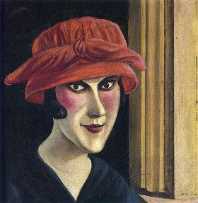 Woman With A Red Hat <br /><i>Frau Mit Roten Hat</i>